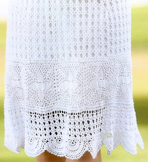 Free Crochet Wrap Skirt Pattern : Crochet skirt PATTERN, sexy crochet skirt pattern, beach ...