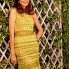 Crochet dress PATTERN, cocktail crochet dress, party dress pattern.