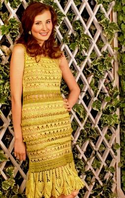 Favorite patterns - crochet dress 1009b