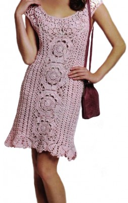 Favorite patterns - crochet dress 1015