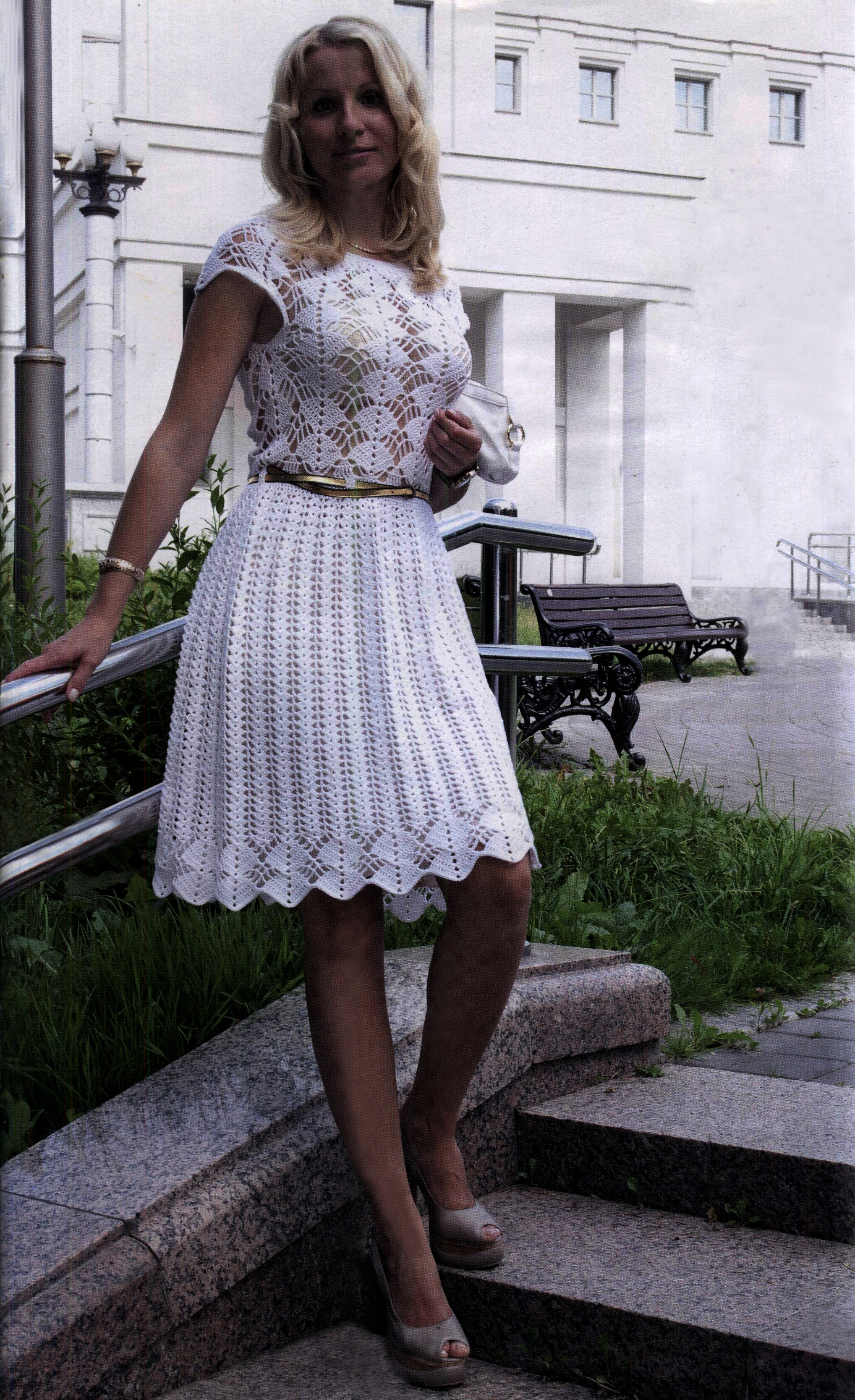Favorite patterns - crochet dress 1016a