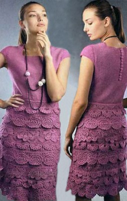 Favorite patterns - crochet dress 1017
