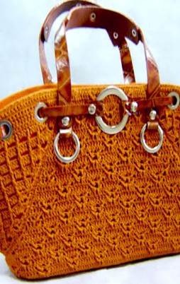 Favorite patterns - crochet bag 8009