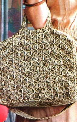 Favorite patterns - crochet bag 8011