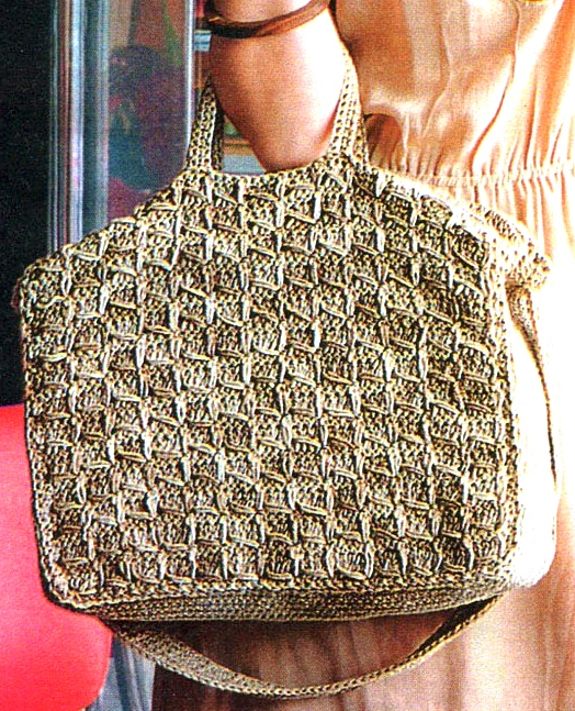 Crochet Bag Pattern Crochet Casual Bag Pattern Crochet Shoulder