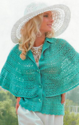 Favorite patterns - crochet cape 7010a