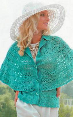 Favorite patterns - crochet cape 7010a
