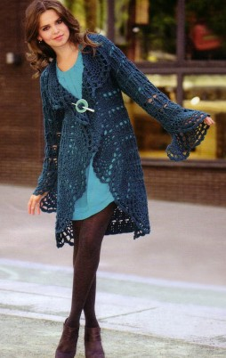 Favorite patterns - crochet cardigan 3011c