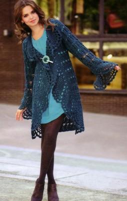Favorite patterns - crochet cardigan 3011c