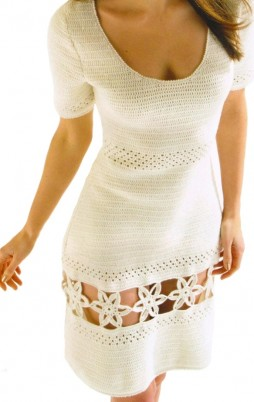 Favorite patterns - crochet dress 1023 a
