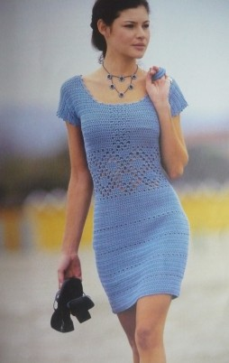 Favorite patterns - crochet dress 1024b