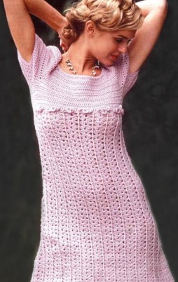 Favorite patterns - crochet dress 1025