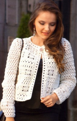 Favorite patterns - crochet jacket 3010a