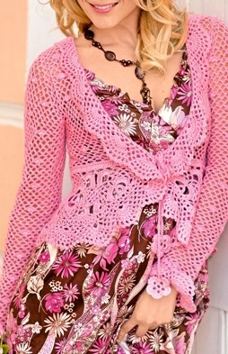 Favorite patterns - crochet jacket 3015 k