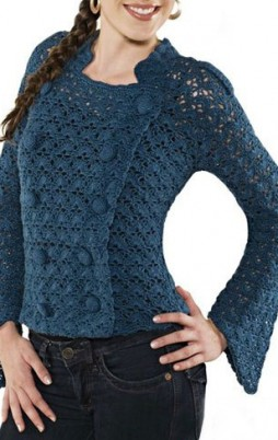 Favorite patterns - crochet jacket 3016