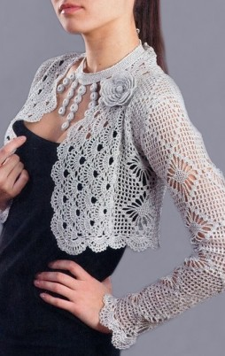 Favorite patterns - crochet jacket 3017e