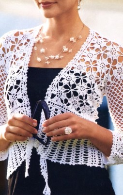 Favorite patterns - crochet jacket 3018a