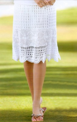 Favorite patterns crochet skirt 5010
