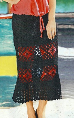 Favorite patterns - crochet skirt 5011