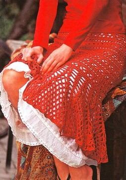 Favorite patterns - crochet skirt 5016a