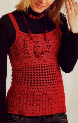 Favorite patterns - crochet top 6014