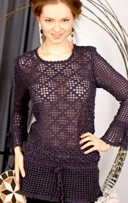 Favorite patterns - crochet tunic 4014