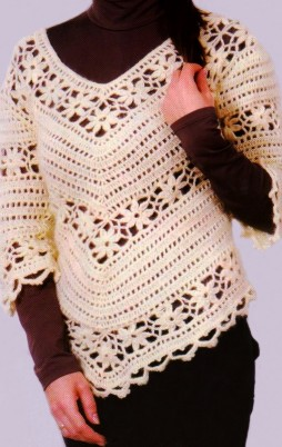 Favorite patterns - crochet tunic 4015r