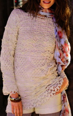 Favorite patterns - crochet tunic 4016