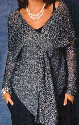 Favorite patterns - crochet tunic 4018a