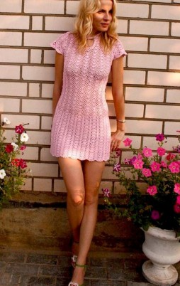 Favorite patterns - crochet dress 1030