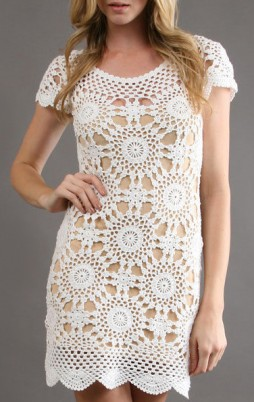 Favorite patterns - crochet dress 1033d