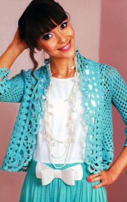 Favorite patterns - crochet jacket 3019