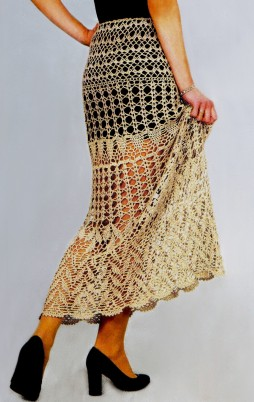 Favorite patterns - crochet skirt 5019