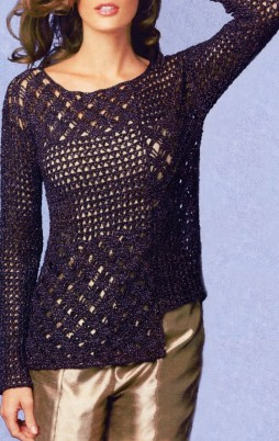 Favorite patterns - crochet tunic 4023a