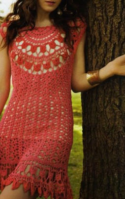 Favorite patterns - crochet dress 1027c1