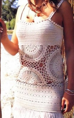 Favorite patterns - crochet top 6020c