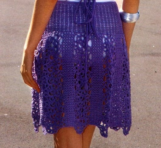 Crochet Skirt Pattern Beach Crochet Set Skirt Top Crochet Top