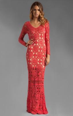 Favorite patterns - crochet dress 1034b