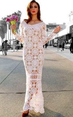 Favorite patterns - crochet dress 1034z