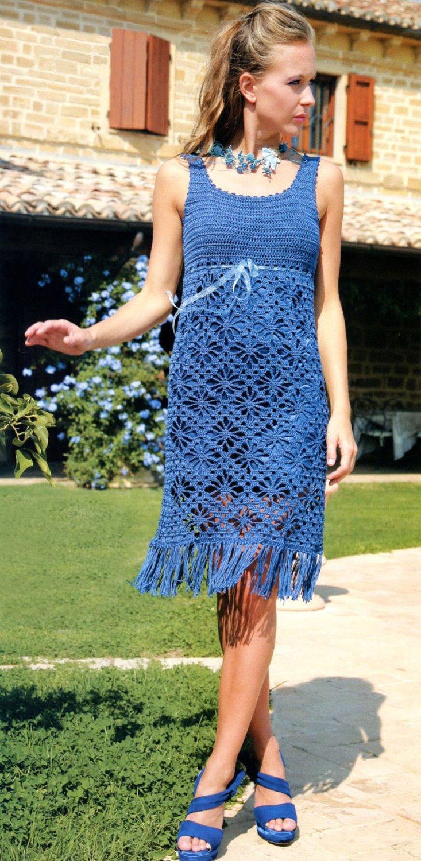 crochet party dress pattern Archives - favoritepatterns.com