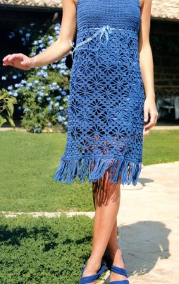 Favorite patterns - crochet dress 1035a