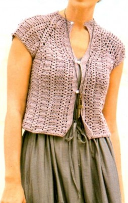 Favorite patterns - crochet jacket 3021