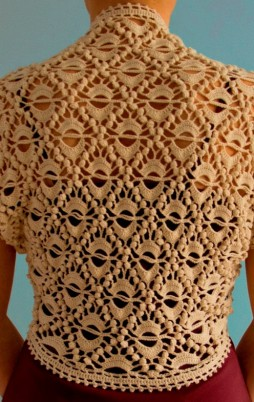Favorite patterns - crochet shrug 3020u