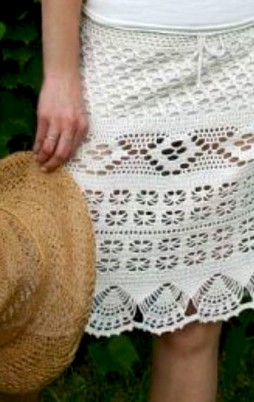 Favorite patterns - crochet skirt 5022