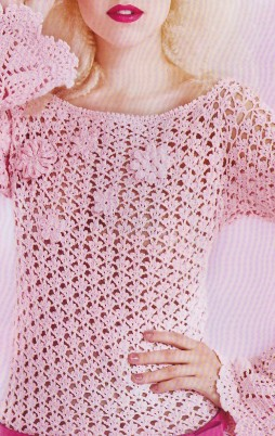 Favorite patterns - crochet tunic 4026