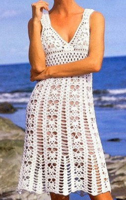 Favorite patterns - crochet dress 1037c