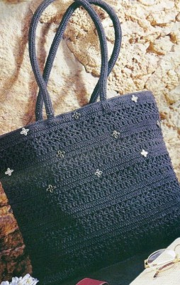 Favorite patterns - crochet bag 8013