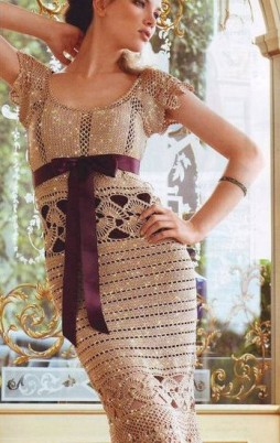 Favorite patterns - crochet dress 1036a