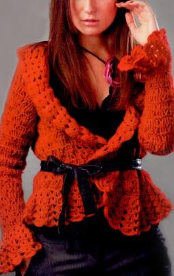 Favorite patterns - crochet jacket 3022