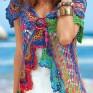 Crochet vest PATTERN, boho vest pattern, crochet beach boho cardigan.